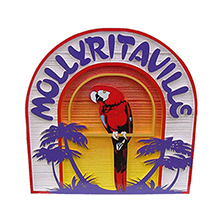 Sandblasted HDU-Mollyritaville