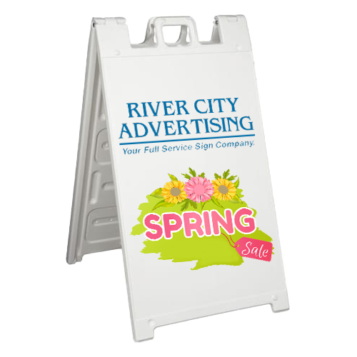 Sidewalk-Sign-A-Frame-RCA-Spring-Sale-2